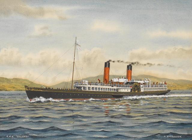 J.Nicholson (British) R.M.S.Columbia