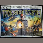 Daleks' Invasion Earth 2150 A.D., British Lion Film Corps., 1966,