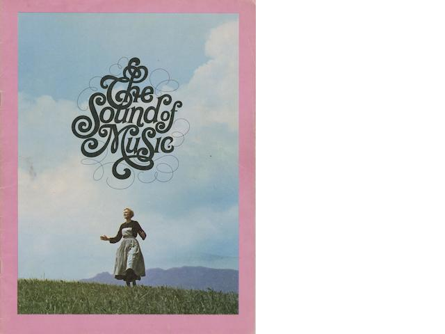 A press book for 'The Sound Of Music', UK, 1965,