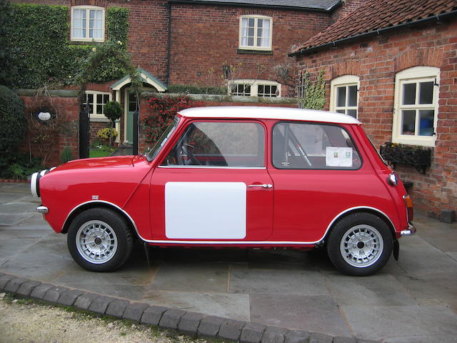 1974 Morris Mini Clubman 1275GT  Chassis no. XE2D2/119856A Engine no. 2444