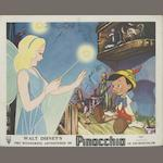 A collection of Walt Disney related lobby cards and front of house stills, including;