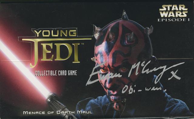 Ewan McGregor/'Star Wars' memorabilia,