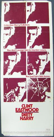 Dirty Harry, Warner Brothers, 1971,