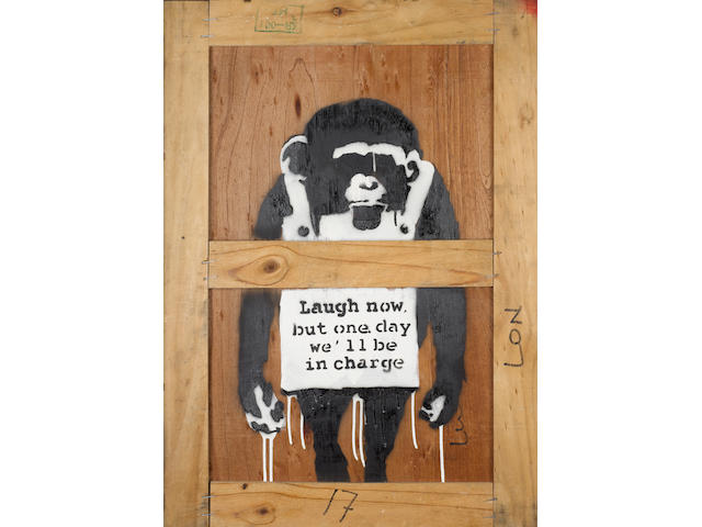 Banksy (British, born 1975) Laugh Now