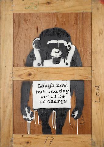 Banksy (British, born 1975) 'Laugh Now'