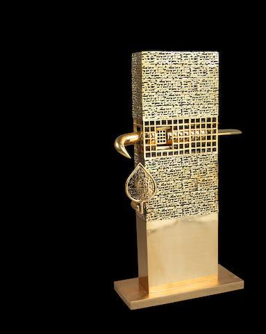 Parviz Tanavoli (Iran, b. 1937) Poet and the Bird