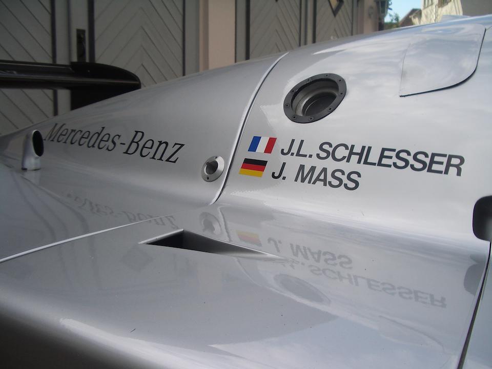 The Ex-Jean-Louis Schlesser/Jochen Mass 1989 Group C World Championship Winning,1989 Sauber-Mercedes-Benz C9  Chassis no. C9-05