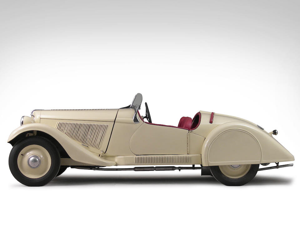 1935 Adler Trumpf Junior Sport Roadster  Chassis no. 86084