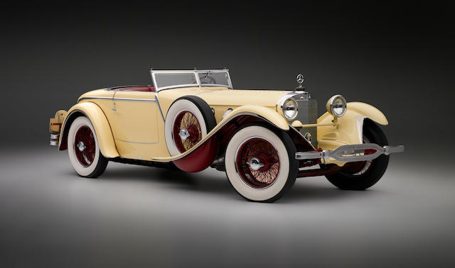 1928 Mercedes-Benz 26/120/180 S-type 6.8-litre supercharged Torpedo Roadster by J. Saoutchik of Neuilly, Paris