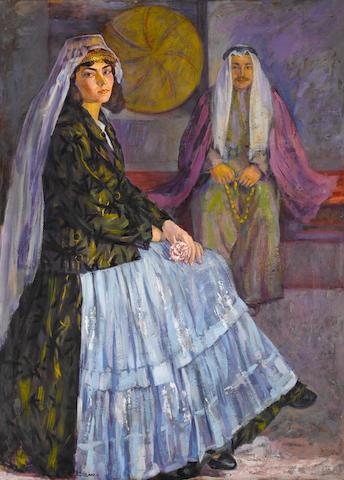 Nazem Al Jaafari (Syria, b. 1918) From Jabal Al-Arab