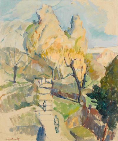 Saliba Douaihy (Lebanon, 1912-1994) Landscape