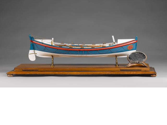 "Model of Lifeboat ""Christopher Brown"""