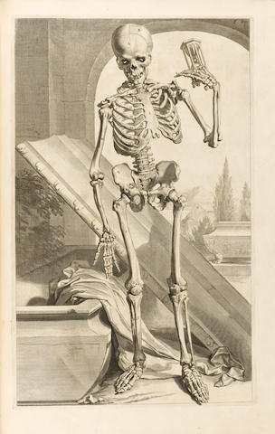 COWPER (WILLIAM) The Anatomy of Humane Bodies... illustrated with large explications containing many