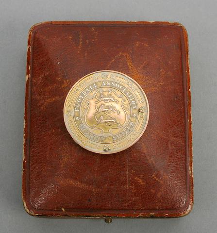 Q.P.R. 1912 Charity Shield medal