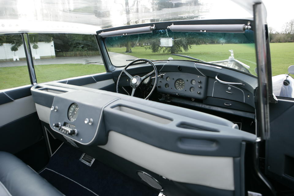 The ex-Nubar Gulbenkian,1956 Rolls-Royce Silver Wraith 4.9-Litre LWB 'Perspex Top' Saloon  Chassis no. LELW74