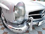1960 Mercedes 300SL Roadster  Chassis no. 198-042-10-002512 Engine no. 198-980-10-002563