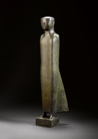 Adam Henein (Egypt, b. 1929) Brise