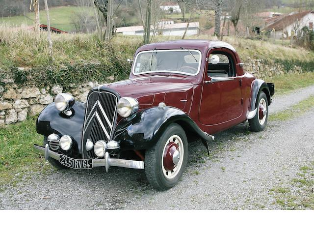 1937 Citroën 7C 'Traction' Coupé AG 2220
