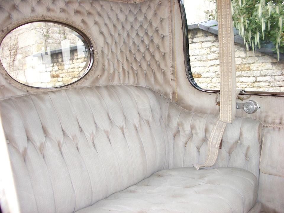1912 Berliet 22hp Type L14 Enclosed Limousine  Chassis no. 9660 Engine no. 11672