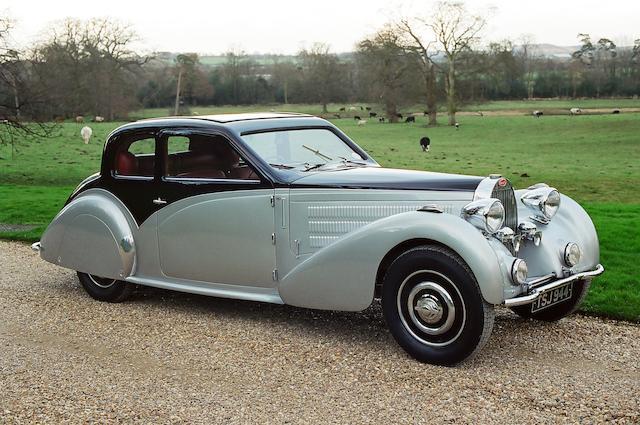 1937 Bugatti Type 57  Chassis no. 57546 Engine no. 400