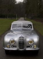 Exposée au Concours d'Elégance de Pebble Beach,1950 Talbot-Lago Record 'Grand Sport' Cabriolet  Chassis no. 102028 Engine no. 26531