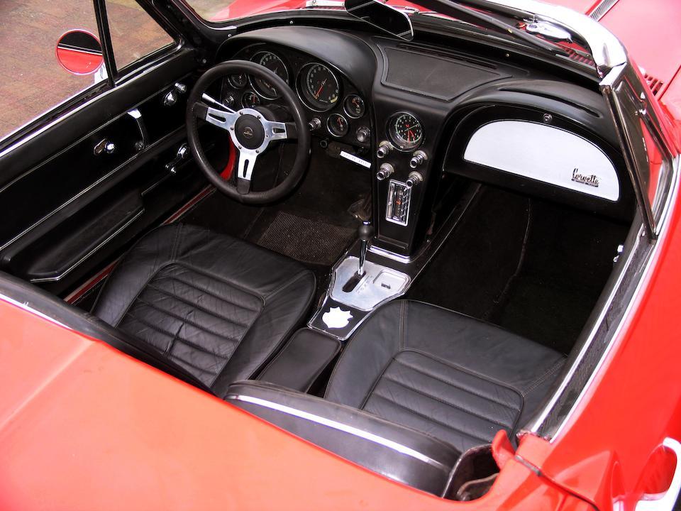 1966 Chevrolet Corvette Sting Ray 'Big Block' Convertible  Chassis no. 194676S127152