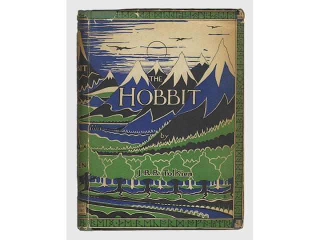 TOLKIEN (J.R.R.) The Hobbit or There and Back Again, FIRST EDITION, FIRST ISSUE, INSCRIBED BY THE AU