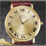 Piaget. An 18ct gold automatic wristwatch Ref:12603, Case No.185920, 1990's