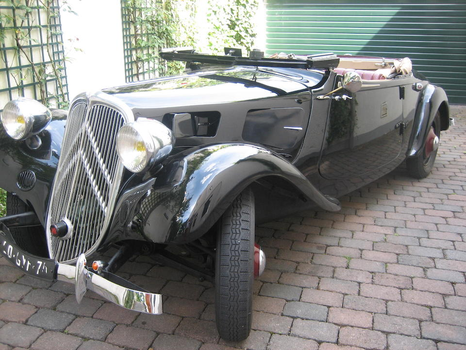 1935 Citroën 7C 'Traction' Cabriolet  Chassis no. 061037