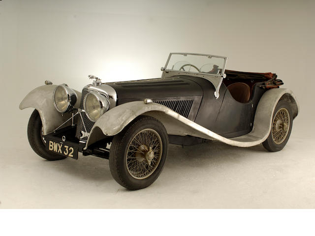 1937 Jaguar SS100 2½-Litre Roadster 18076