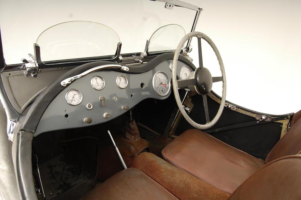1937 Jaguar SS100 2½-Litre Roadster  Chassis no. 18076 Engine no. 251308