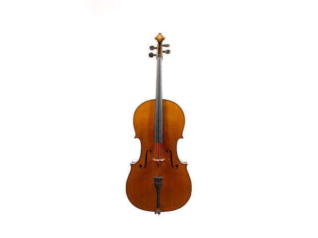 A French Violoncello by Ch J B Collin-Mezin, 1887