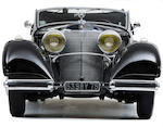 The property of Georges Mathieu, only 33 built,1936 Mercedes-Benz 500K Cabriolet A  Chassis no. 105383
