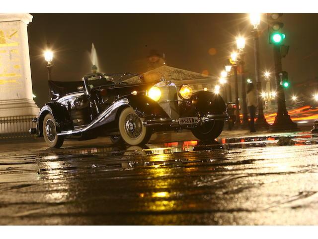 1936 Mercedes Benz 500K cabriolet A,