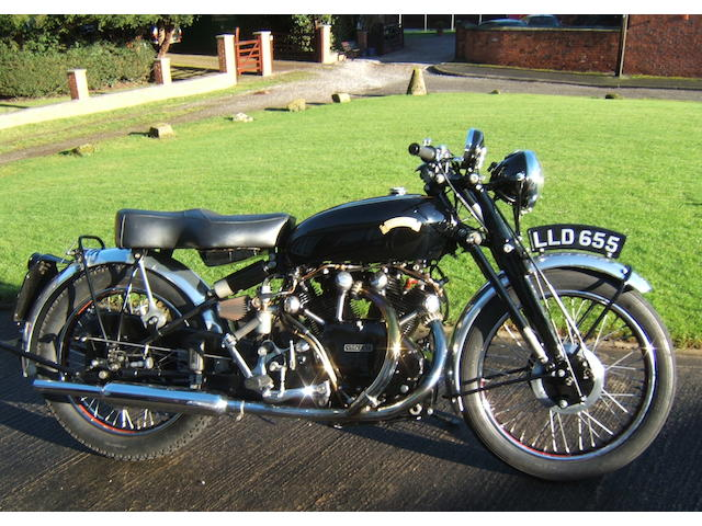 1950 Vincent Black Shadow,