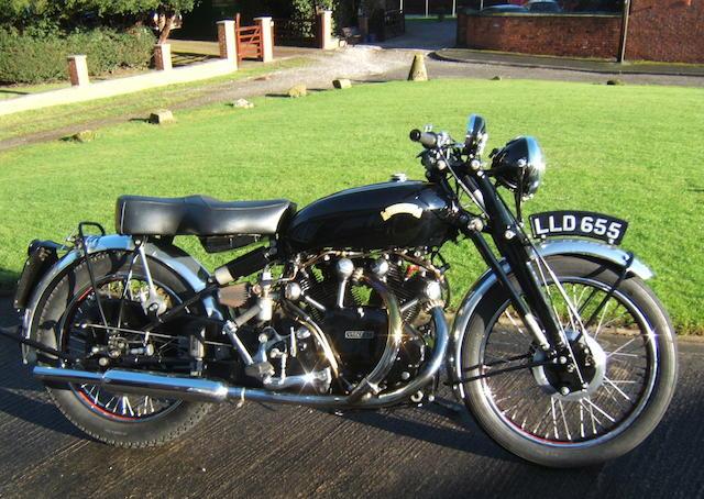 1950 Vincent 998cc Series-C Black Shadow  Frame no. RC 62746 Engine no. F10/AB/1B/4374