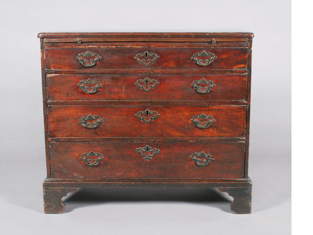 18th c mah batchelors chest