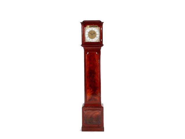 A mid 20th century mahogany longcase clock,