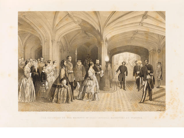ROYALTY BROOKS (SHIRLEY) The Visit of Their Imperial Majesties, the Emperor and Empress of the Frenc