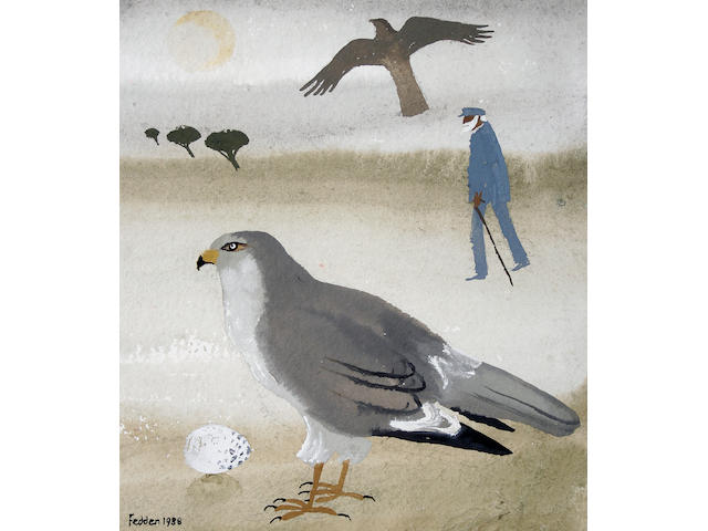 Mary Fedden R.A. (British, born 1915) Harrier