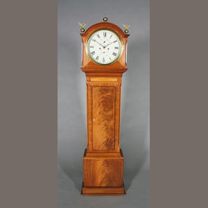 19th c mah longcase clock