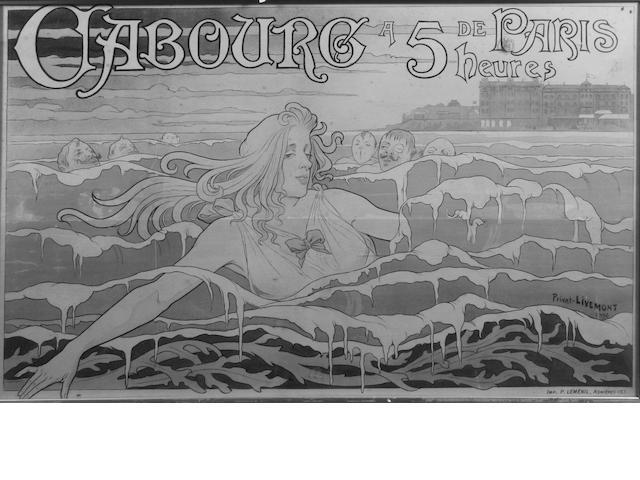 Privat Livemont (Belgian, 1861-1936) 70 x 105.5cm.