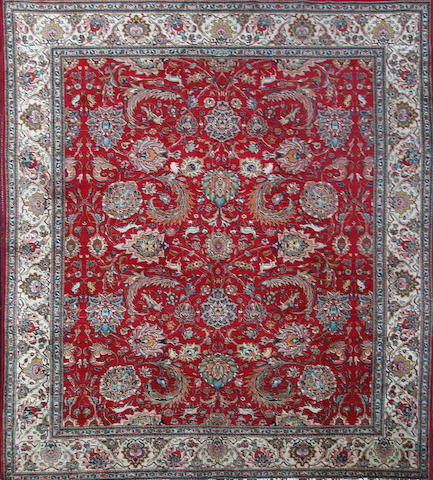 A Tabriz carpet Persian Azerbaijan 404cm x 300cm