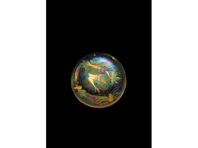 Daisy Makeig-Jones for Wedgwood A Fairyland Lustre Vase and Cover, circa 1920