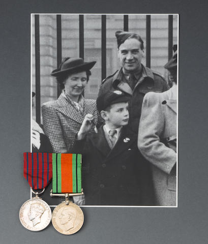 A Second World War George Medal Pair to Lieutenant J.A.Leslie, Home Guard,