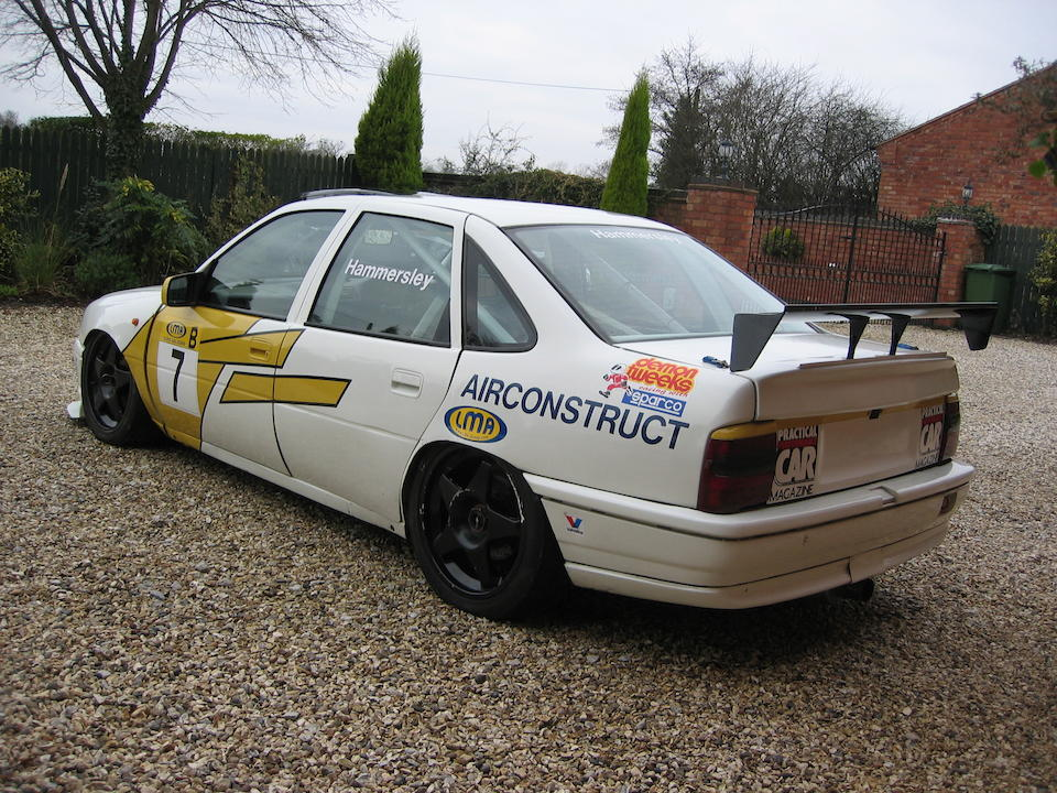 1994 Vauxhall Cavalier ST Race Saloon  Chassis no. RML – 018 Engine no. VR 031