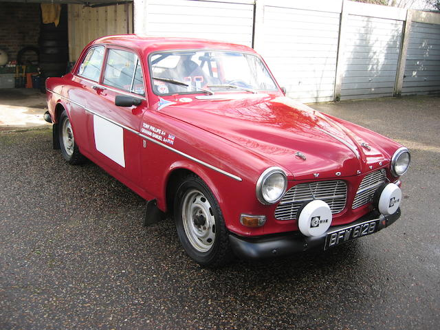 1964 Volvo Amazon 122S 2-Door Rally Saloon  Chassis no. 109440 Engine no. 92727