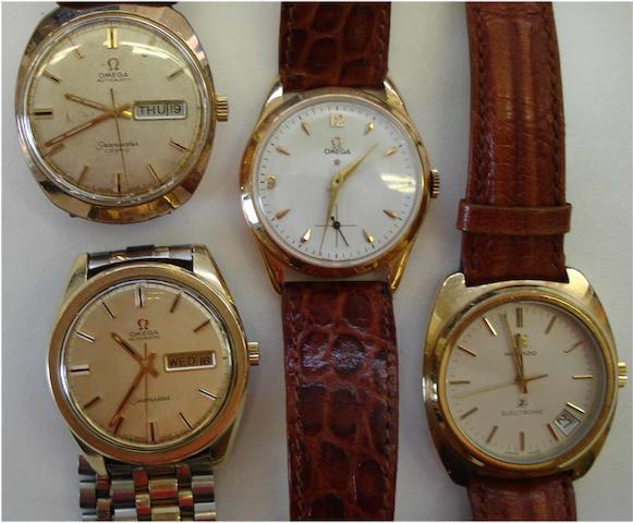 A lot of 4 various wristwatches 4
