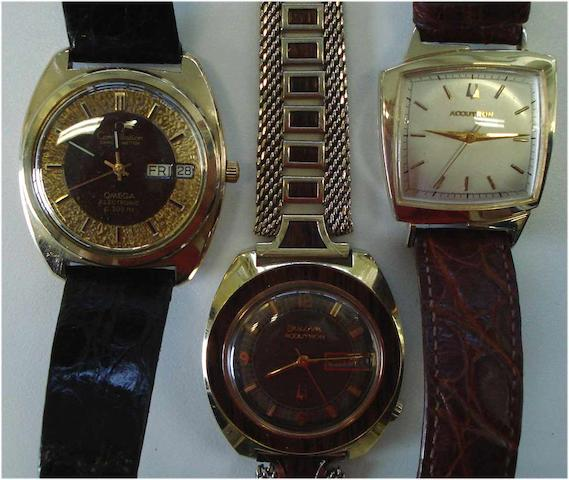 A lot of 3 various wristwatches 3