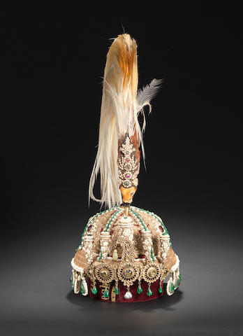 An impressive gem-set Crown made for the Nepalese Royal Family India, 19th Century